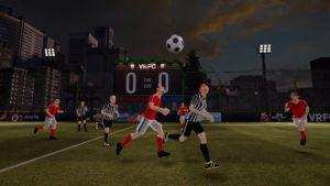 fotbal in realitatea virtuala